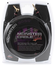 Monster 600202 Bass Instrument Cable - 21'