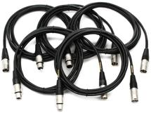 Mogami CorePlus Microphone Cable 5-pack - 10' XLR-XLR
