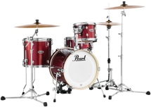 Pearl Midtown Series Shell Pack - 4-pc - Black Cherry Glitter