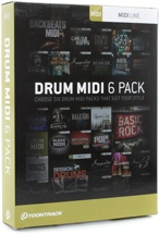 Toontrack Drum MIDI 6-pack - Boxed