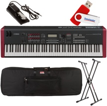 Yamaha MOXF8 88-key Stage Performance Bundle