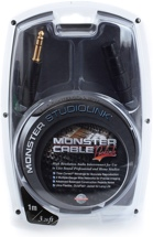 Monster 600310 StudioLink Balanced Interconnects - 1 Meter