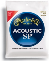 Martin MSP-3100 SP 80/20 Bronze Light Acoustic Strings