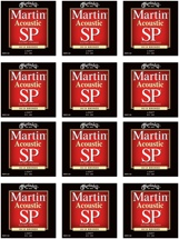 Martin MSP-3100 SP 80/20 Bronze Light Acoustic Strings 12-Pack