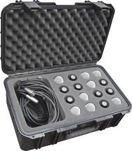 SKB iSeries Waterproof Mic Case - Holds 16 Mics w/Storage