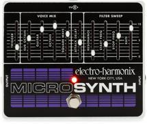 Electro-Harmonix Micro Synthesizer Analog Guitar Microsynth Pedal