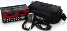 Mesa/Boogie Mini Rectifier 25 - 25-watt Tube Head with Red Diamond Faceplate