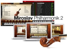 IK Multimedia Miroslav Philharmonik 2 Orchestral Software Instrument - Crossgrade (download)