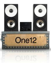 Amphion MobileOne12 Kit with 2 Amp100 Mono Block Amplifiers