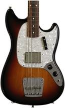 Fender Pawn Shop Mustang Bass Rosewood - 3 Tone Sunburst