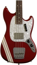 Fender Pawn Shop Mustang Bass Rosewood - Candy Apple Red