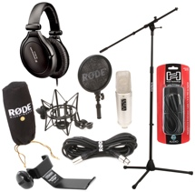 Rode NT2-A Vocalist Package with HD380 Pro Headphones