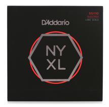 D'Addario NYXL55110 Nickel Wound Bass Strings .055-.110 Heavy