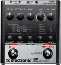 TC Electronic RPT-1 Nova Repeater Delay Pedal