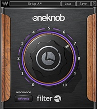 Waves OneKnob Filter Plug-in