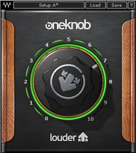 Waves OneKnob Louder Plug-in