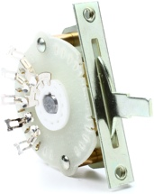 Emerson Custom Oak Grigsby Lever Switch - 4-way