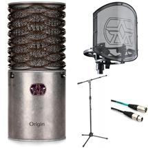 Aston Microphones Origin Microphone with Rycote Shockmount, Stand, and Cable