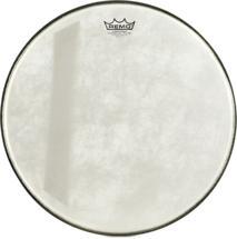 "Remo Powerstroke 3 Fiberskyn Diplomat Felt Tone Bass Drum Head - 18"""