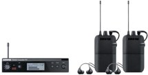 Shure PSM300 Wireless Dual In-ear Monitor System - H20 Band