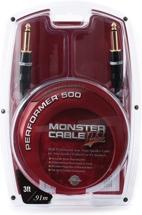 Monster Performer 500 Speaker Cable - 3'