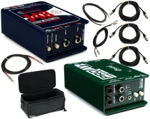 Radial ProAV2 + J48 Direct Box Package w/ProCo Cable Bundle