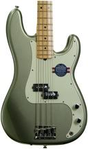 Fender American Standard Precision Bass - Jade Pearl Metallic, Maple