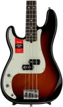 Fender American Professional Precision Bass, Left-handed - 3-color Sunburst with Rosewood Fingerboard