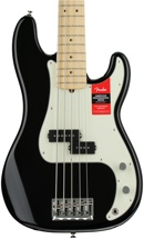 Fender American Professional Precision Bass V - Black with Maple Fingerboard
