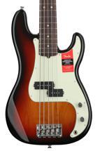 Fender American Professional Precision Bass V - 3-color Sunburst with Rosewood Fingerboard