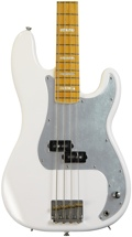 Squier Chris Aiken Signature Precision Bass - Olympic White