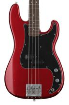 Fender Nate Mendel Precision Bass - Road Worn Candy Apple Red