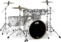 PDP Concept Maple Shell Pack - 7-Piece - Pearlescent White