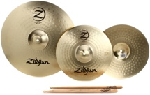 "Zildjian Planet Z 2-piece Cymbal Set -13"", 18"" Set"