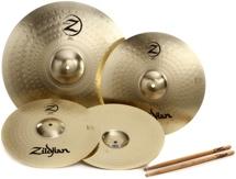 """Zildjian Planet Z 3-piece Cymbal Set -14"""", 16"""", 20"""" set"""