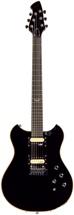 Wechter Guitars Pathmaker SB Standard PM-7312 - Black with Piezo