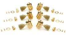 Gibson Accessories Vintage Tuning Machine Heads - Gold w/Pearloid Buttons
