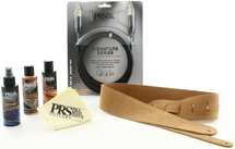 PRS Accessory Kit - Tan Suede Strap