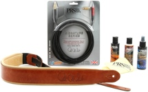 PRS Deluxe Accessory Kit - Cognac and Tan Strap