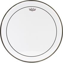 Remo Clear Pinstripe Bass Drum Head - 22