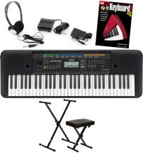 Yamaha PSR-E253 Essential Keybooard Bundle