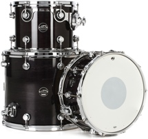 DW Performance Series 3-piece Tom/Snare Pack - Ebony Stain Lacquer