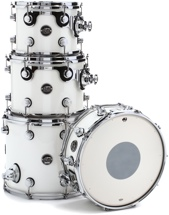 DW Performance Series 4-piece Tom/Snare Pack - White Ice Lacquer