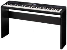 Casio Privia PX-350 Digital Piano & Stand Bundle - Black