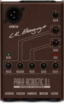 LR Baggs Para DI Acoustic Preamp, 5-band EQ, and Direct Box