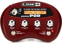 Line 6 Pocket POD Guitar Amp Emulator