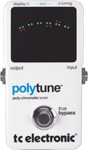 TC Electronic PolyTune Poly-Chromatic Tune