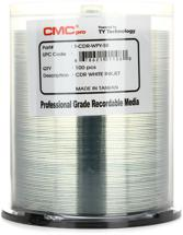 CMC Pro CD-R White Inkjet Printable, 100pk Spindle