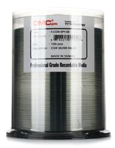 CMC Pro Blank CD-Rs for Signature Printer Bulk - Silver