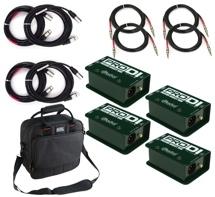 Radial ProDI Passive Mono 4-Pack